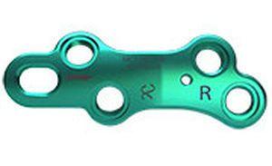 Metatarsophalangeal joint arthrodesis plate MedialMax™ Tornier