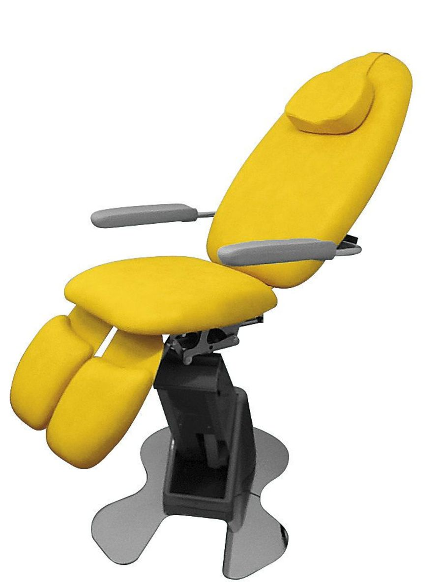 Podiatry examination chair / 3-section RENE' TEYCO MED