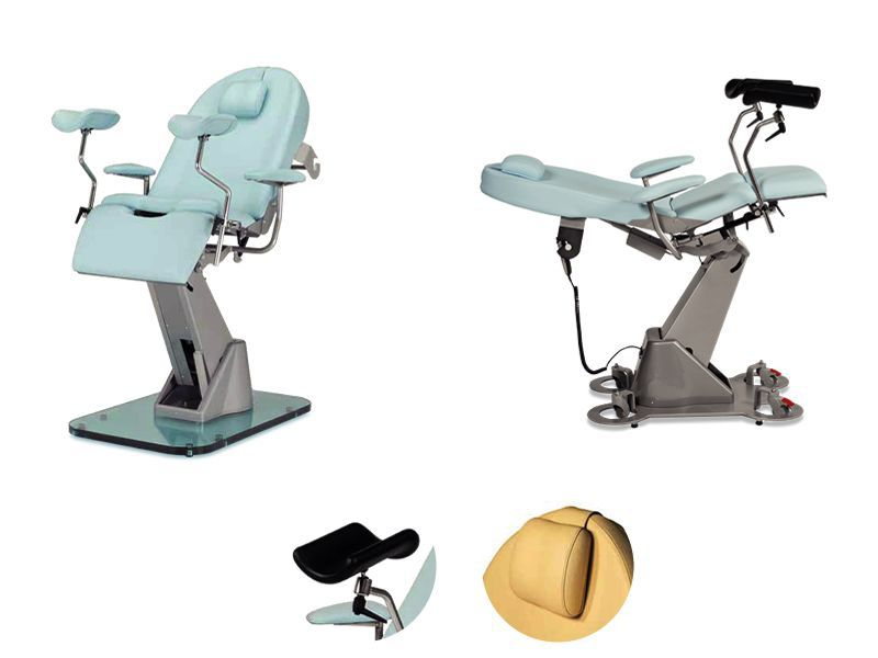 Gynecological examination chair / electrical / height-adjustable / 3-section ELLY TEYCO MED