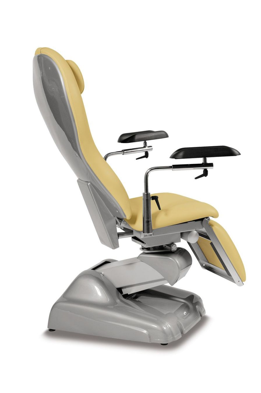 Height-adjustable blood donor armchair / manual LORY TEYCO MED