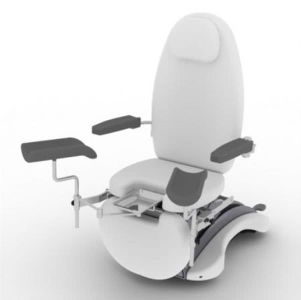 Gynecological examination chair / electrical / height-adjustable / 3-section Francy TEYCO MED