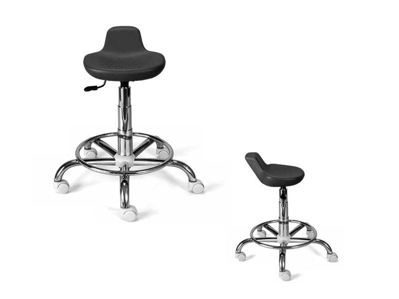 Medical stool / height-adjustable / on casters WILLY TEYCO MED