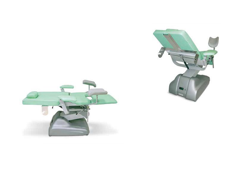 Gynecological examination chair / electrical / height-adjustable / 3-section IVY TEYCO MED