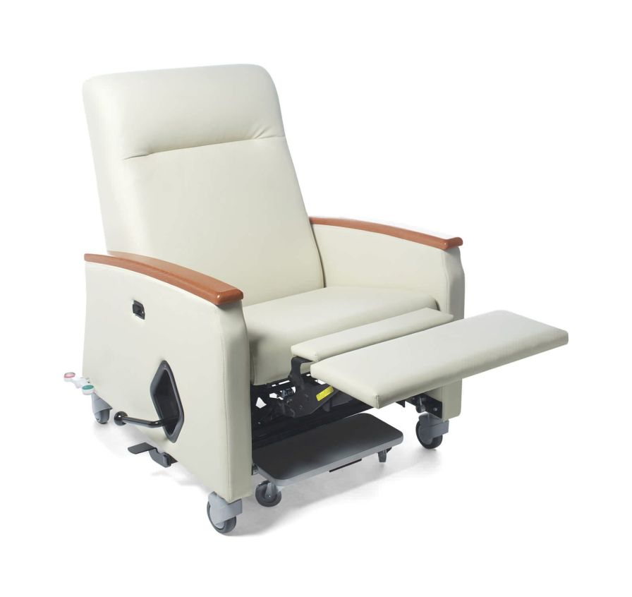 Reclining medical sleeper chair / on casters / manual / bariatric Oasis Stance Healthcare