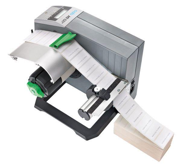 Semi-automatic labeler / adhesive label HS120+ cab Produkttechnik