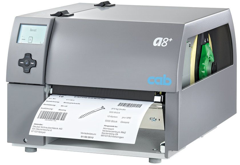 Label printer / multipurpose A8+ cab Produkttechnik