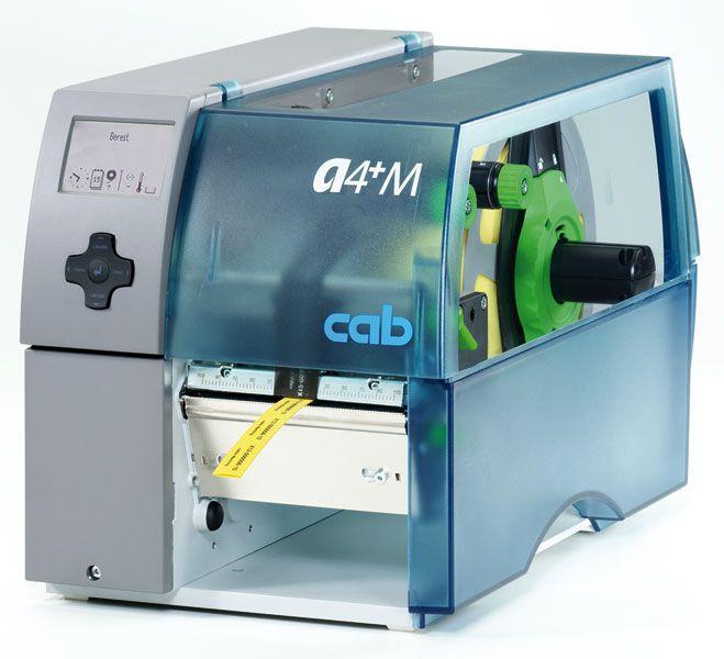 Label printer / center-aligned A4+M cab Produkttechnik