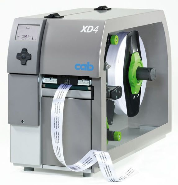 Label printer / double-sided XD4 cab Produkttechnik