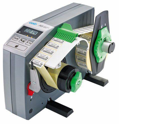 Semi-automatic labeler / adhesive label HS60+ cab Produkttechnik