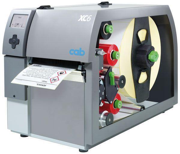 Label printer 162.6 mm | XC6 cab Produkttechnik