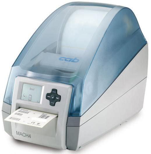 Label printer / multipurpose MACH4 P cab Produkttechnik