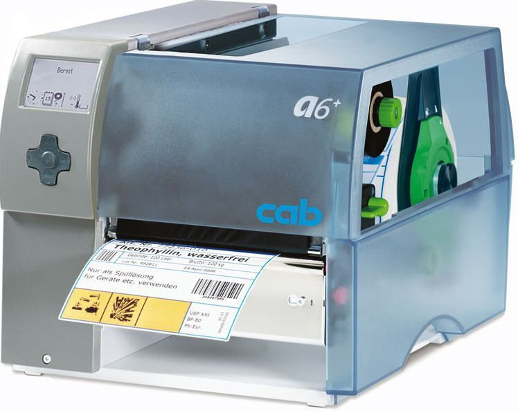 Label printer / multipurpose A6+ cab Produkttechnik