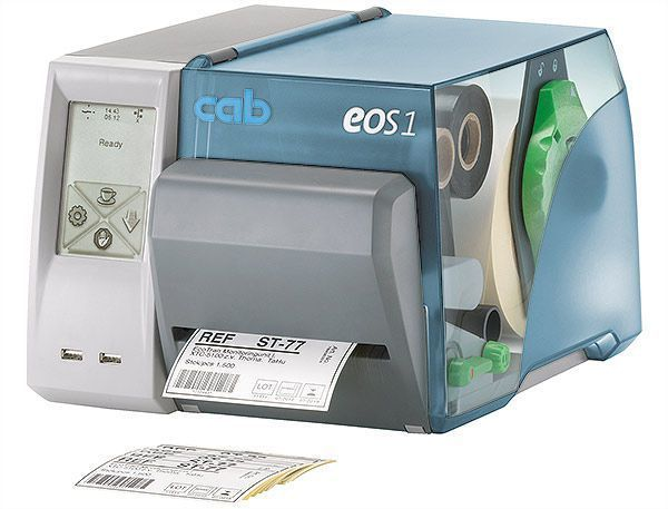 Label printer / cost-effective EOS1 cab Produkttechnik