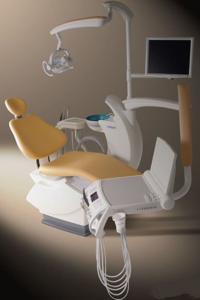 Dental treatment unit with hydraulic chair Maxpert Shinhung