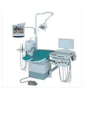 Dental treatment unit with hydraulic chair TAURUS SANTE F/C Shinhung
