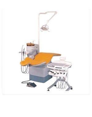 Dental treatment unit with hydraulic chair TAURUS SANTE C/C Shinhung