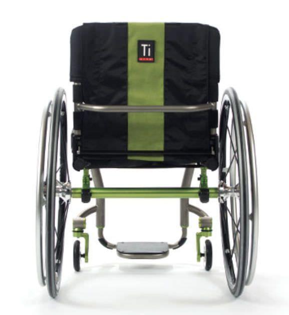 Active wheelchair / height-adjustable / with legrest ZRA TiLite
