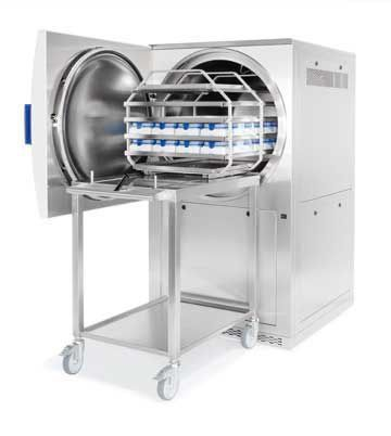 Laboratory autoclave / horizontal 65 - 1580 L | Systec H-Series Systec