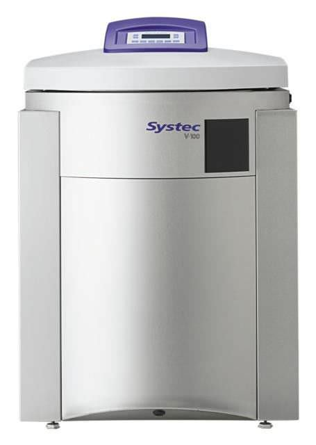 Laboratory autoclave / vertical 40 - 150 L | Systec V-Series Systec