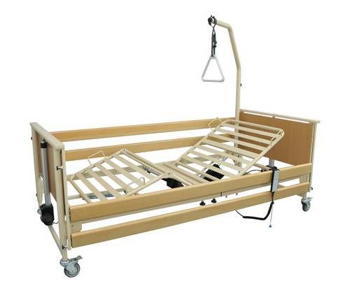 Nursing home bed / electrical / height-adjustable / on casters ECOFIT TEKVOR CARE