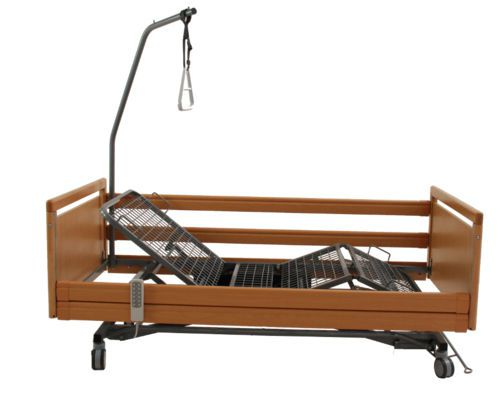Nursing home bed / electrical / height-adjustable / on casters ELBACARE TEKVOR CARE