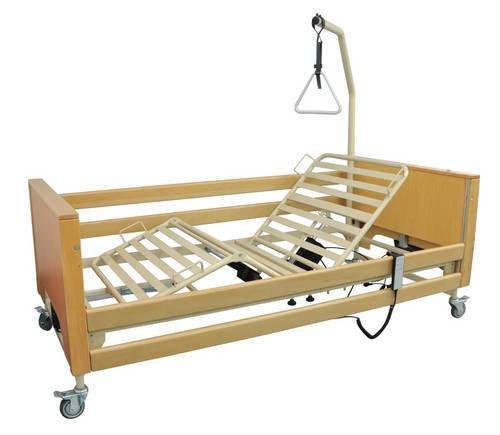 Nursing home bed / electrical / on casters / height-adjustable ECOFIT PLUS TEKVOR CARE