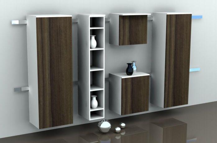 Medical cabinet / patient room / modular COMMODUS TEKVOR CARE