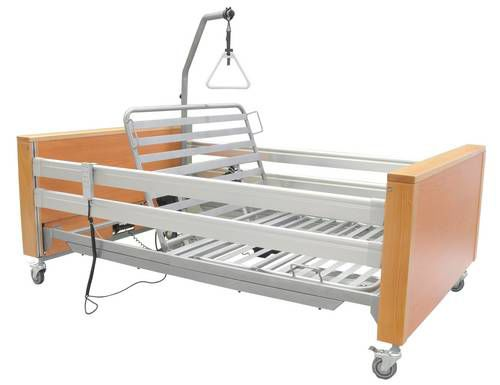 Nursing home bed / electrical / height-adjustable / 4 sections ECOFIT XTRA TEKVOR CARE