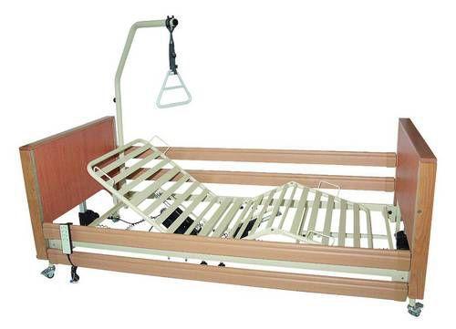 Nursing home bed / electrical / ultra-low / height-adjustable ECOFIT PLUS LOW TEKVOR CARE