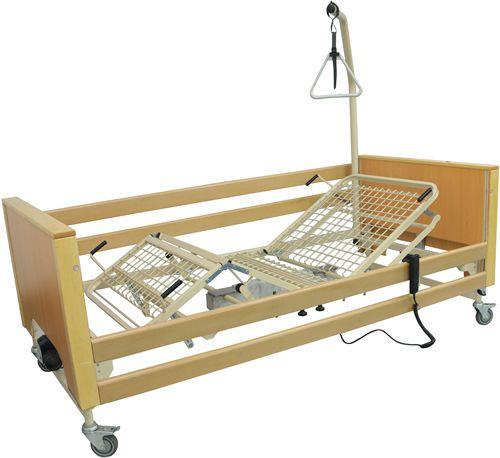 Nursing home bed / mechanical / height-adjustable / on casters ASTER TEKVOR CARE
