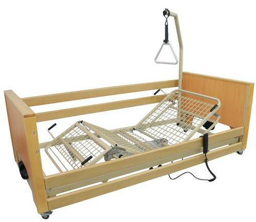 Nursing home bed / electrical / height-adjustable / ultra-low ASTER TEKVOR CARE