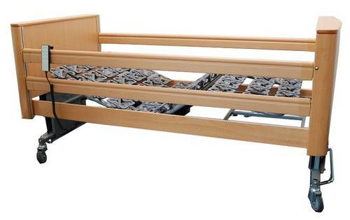 Nursing home bed / electrical / height-adjustable / 4 sections OPTICARE TEKVOR CARE
