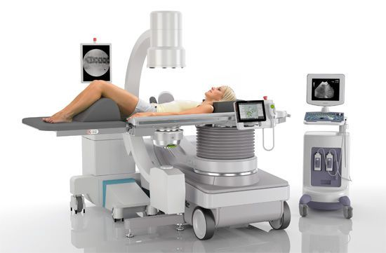 Extracorporeal lithotripter / with lithotripsy table / with C-arm MODULITH® SLK inline Storz Medical
