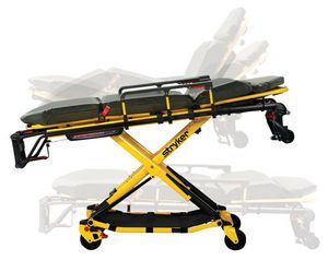 Emergency stretcher trolley / height-adjustable / hydraulic / 3-section 318 kg   Performance-PRO™ XT Stryker EMS