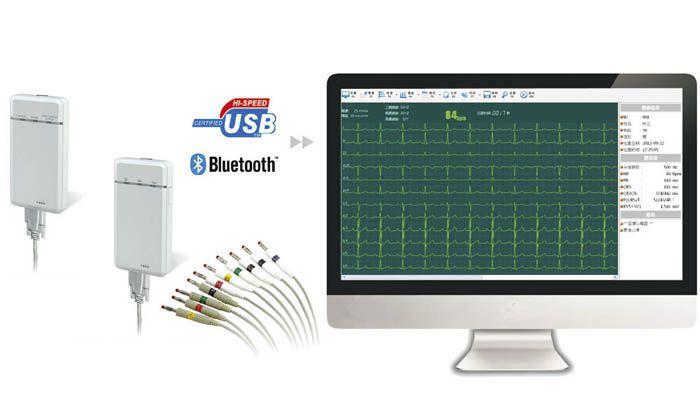 Digital veterinary electrocardiograph / 12-channel EBox-12 Sonostar Technologies