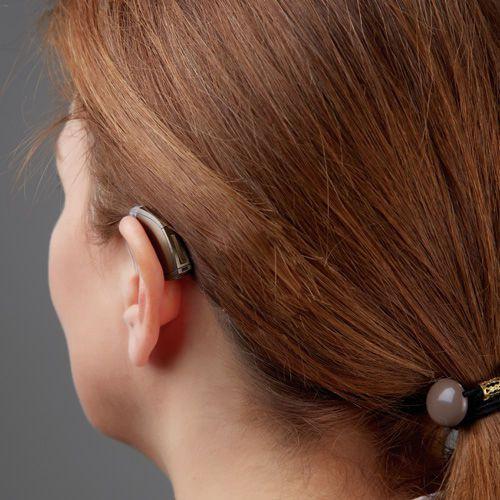 Mini behind the ear, receiver hearing aid in the canal (mini RITE) STANDARD Starkey Laboratories