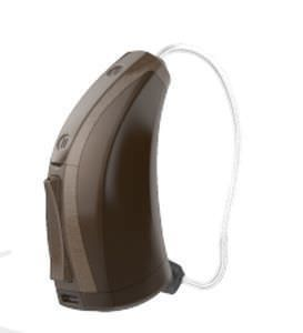 Behind the ear, receiver hearing aid in the canal (RITE) STANDARD Starkey Laboratories