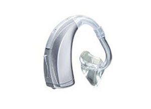 Mini behind the ear, hearing aid with ear tube POWER Starkey Laboratories