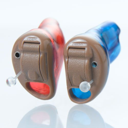 Completely hearing aid in the canal (CIC) Starkey Laboratories