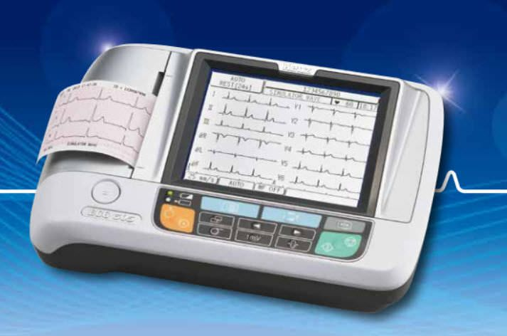 Digital electrocardiograph / 3-channels ECG 305 Suzuken Company