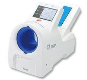 Automatic blood pressure monitor / electronic / arm / with built-in cuff BPM AC O5P Suzuken Company