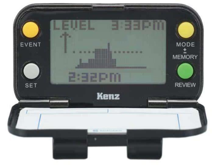 Pedometer with calorie counter Lifecorder PLUS Suzuken Company