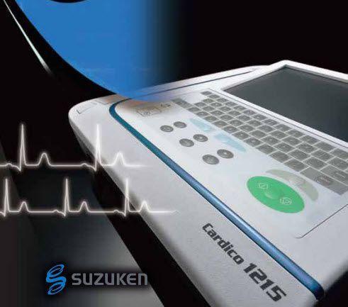 Digital electrocardiograph / wireless / 12-channel Cardico 1215 Suzuken Company