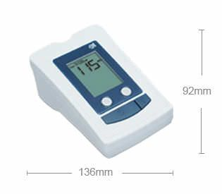 Automatic blood pressure meter / with blood glucose meter TD-3250H TaiDoc Technology