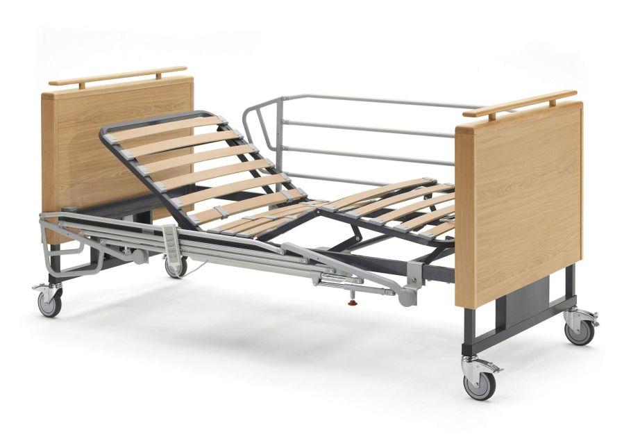 Nursing home bed / electrical / height-adjustable / on casters Aneto BA-SR Tecnimoem