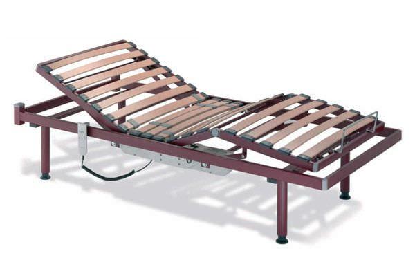 Nursing home bed / electrical / 4 sections / column type Recom Tecnimoem
