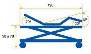 Nursing home bed / electrical / height-adjustable / on casters max. 150 kg   Marina Tecnimoem