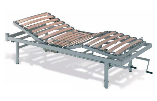 Nursing home bed / mechanical / 4 sections Leiva Tecnimoem