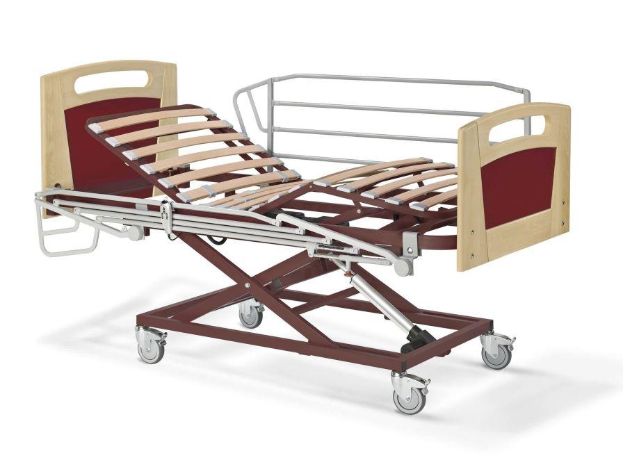 Nursing home bed / electrical / height-adjustable / 4 sections Nules-Plus Tecnimoem