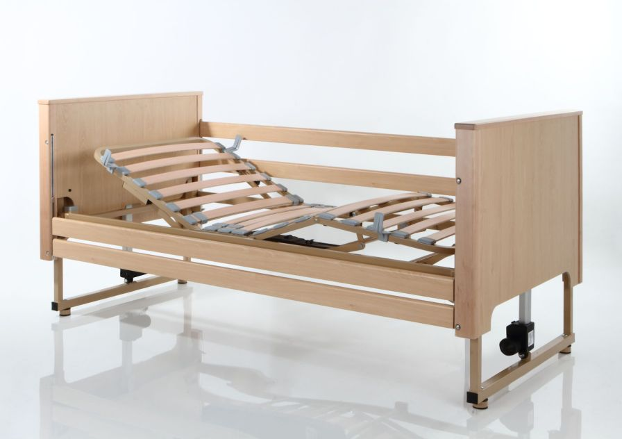 Nursing home bed / electrical / 4 sections Alzeimer Tecnimoem